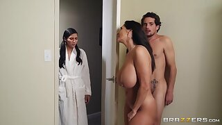 Mind-blowing sneaky carnal knowledge scene with Ava Addams plus Tyler Nixon