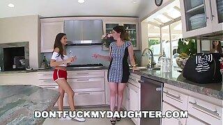 DON'T FUCK MY DAUGHTER - Tiny Teen Nina North Fucks The Pool Man