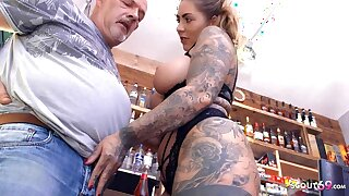Age-old GUY EGON SEDUCES GERMAN CURVY TEEN MIA BLOW Be beneficial to A ROUGH FUCK