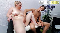 AmateurEuro - Despondent Deutsche BBW Teen Anna K.Hard Making love Outdoor