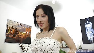 FirstAnalQuest.com - ANAL SEX POSITIONS EXPLORED WITH BIG TITS RUSSIAN Widely applicable