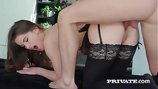 Evelina Darling, addicted to unmentionables and and anal sex