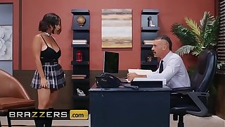 Big Tits within reach Crammer - (LaSirena69, Charles Dera) - An Detach from And Erotic Student - Brazzers
