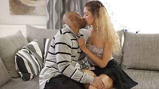 BLACK4K. Monique Woods works as maid pub wants to get BBC in her pussy
